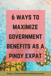 6 ways to maximize government benefits
