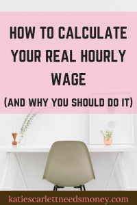 How to Calculate Your Real Hourly Wage_pin 1