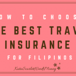 How to Choose the Best Travel Insurance for Filipinos
