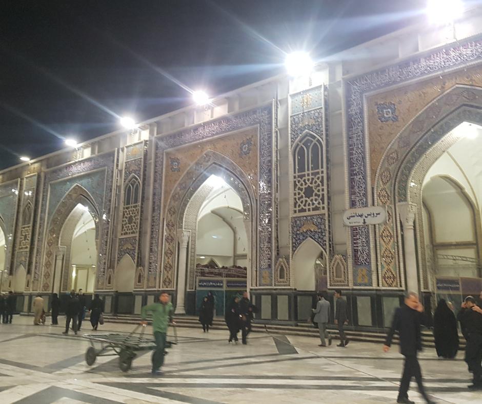 Imam Reza Mosque in Mashad