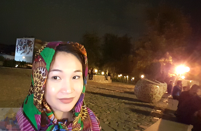In front of Tehran Theatre