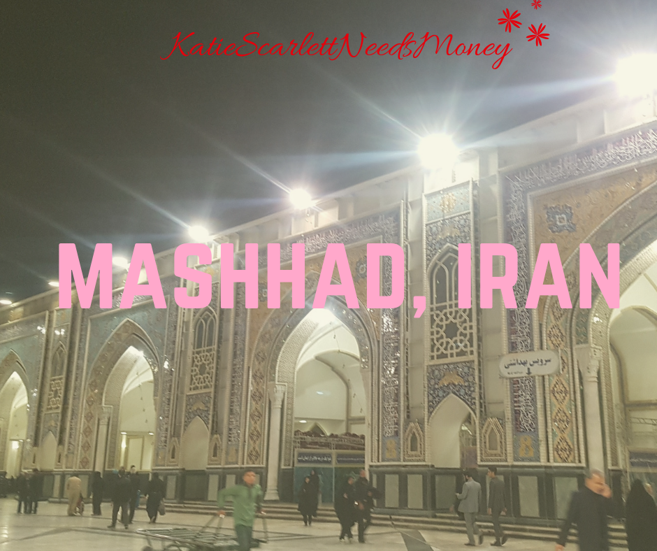 Communing with the Devout in Mashhad Iran