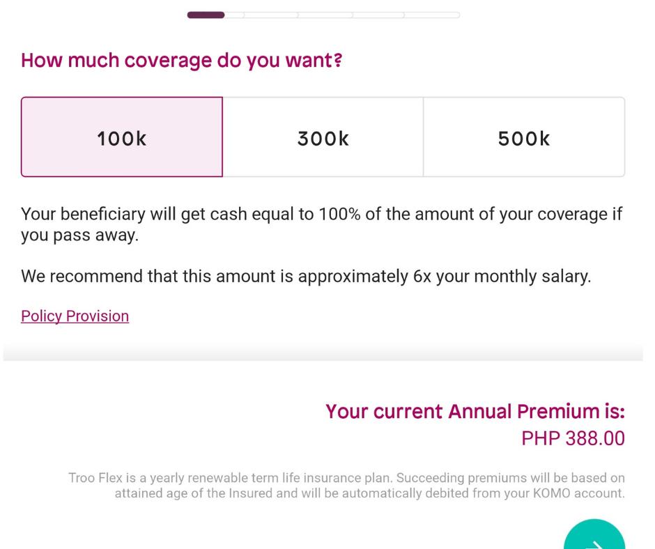 Komo Troo Flex_term insurance