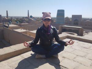 Katie Scarlett in Khiva