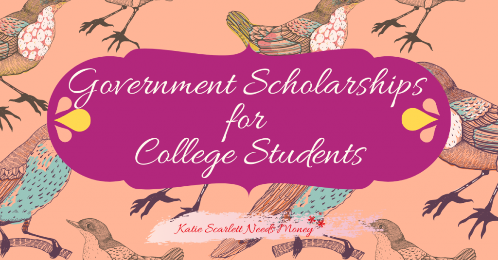 Government Scholarships for College Students