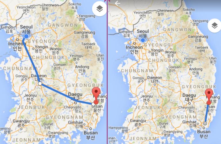 train to Gyeongju